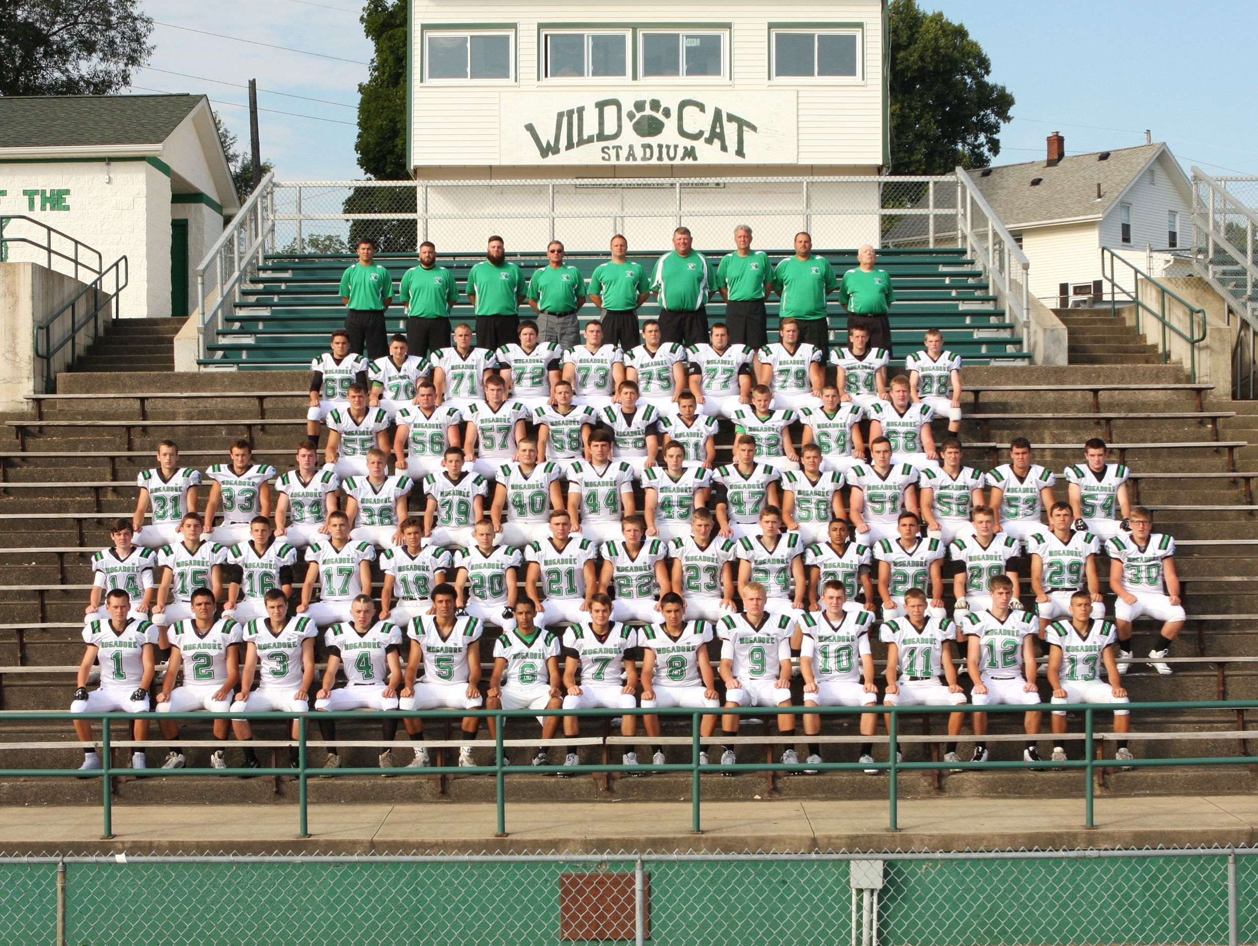 2015 Mogadore High School varsity football team