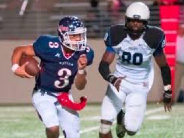 Denton Ryan sophomore quarterback Spencer Sanders.