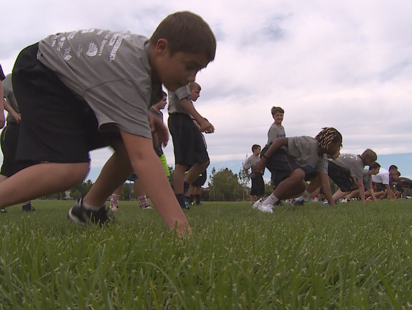 Over 60 kids participated in LT's football camp.