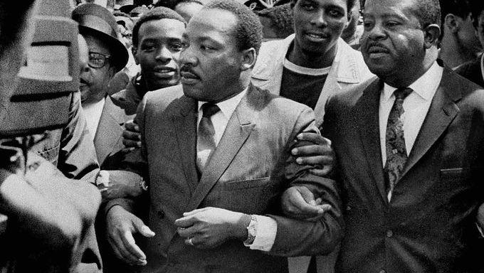Martin Luther King Jr. and Ralph Abernathy