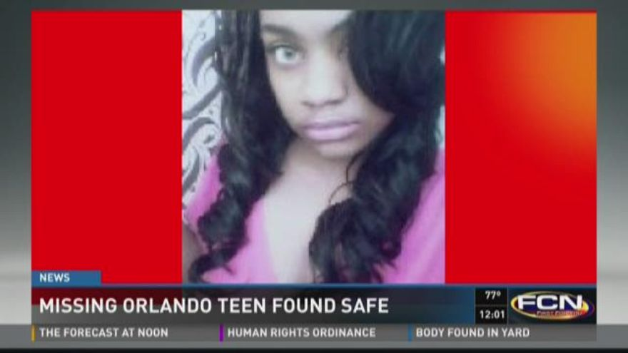Features Missing Teen Found Safe 109