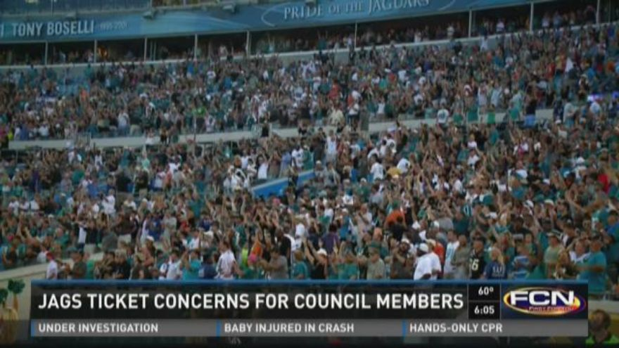 jaguars tickets concerns looming over jacksonville city council. Cars Review. Best American Auto & Cars Review