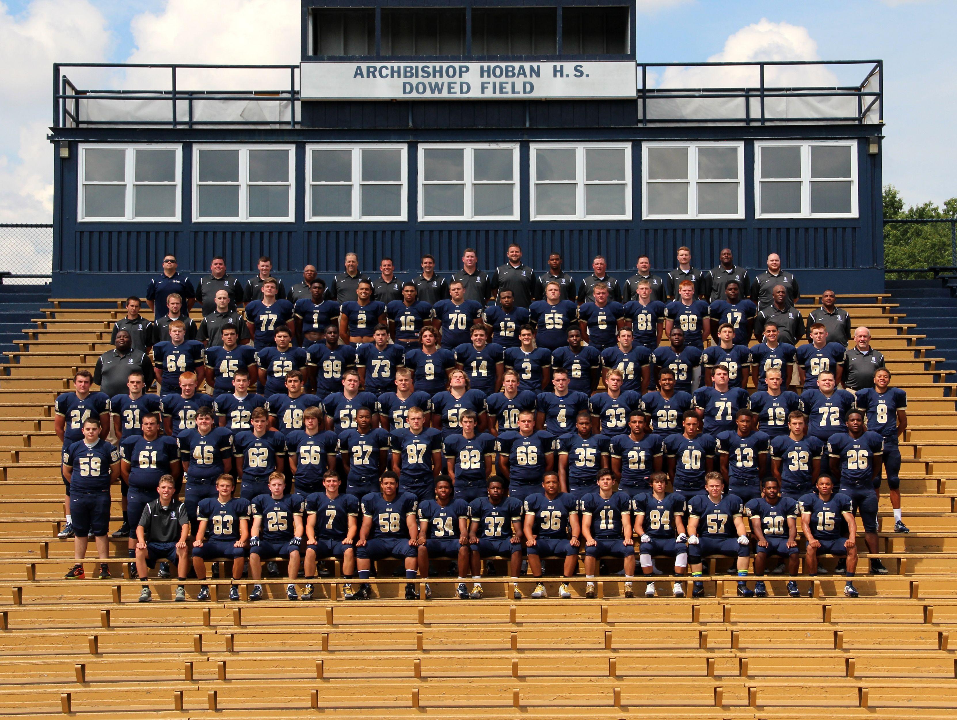 2015 Archbishop Hoban High School varsity football team