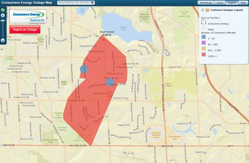 Power restored to thousands in East Grand Rapids | wzzm13 com