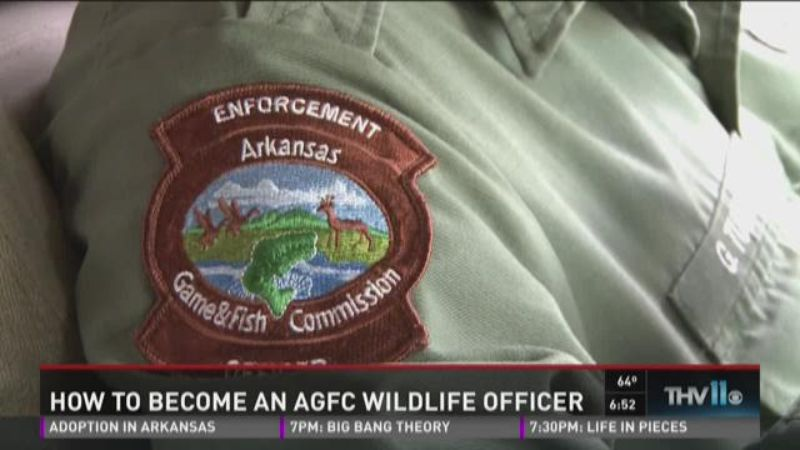 Outdoor report how to become an agfc wildlife officer for Arkansas game and fish forecast