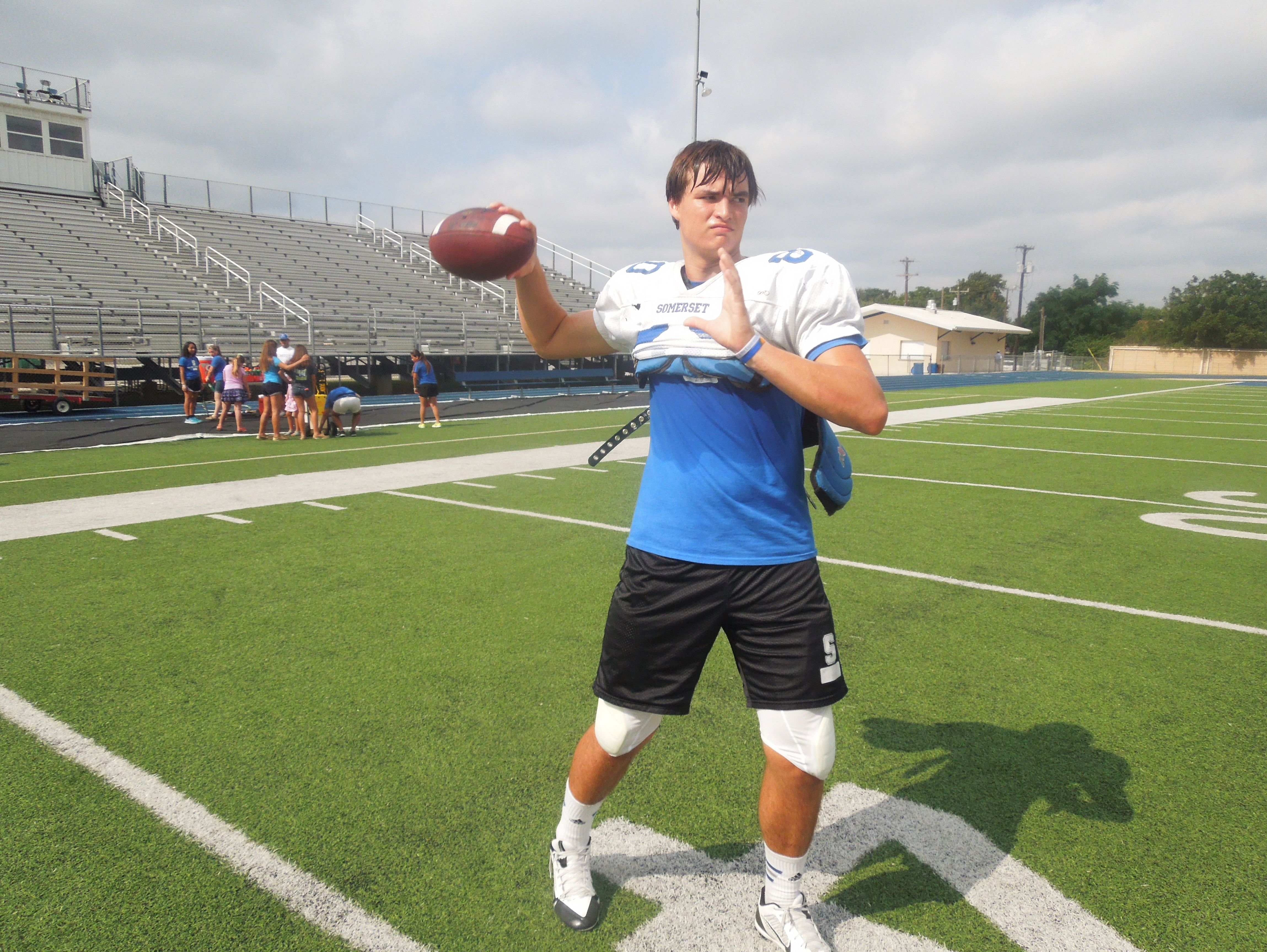 how to play quarterback in high school