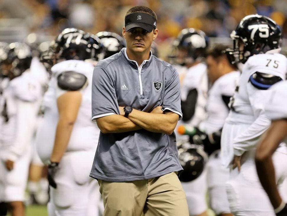 Scott Lehnhoff, a 1999 Clemens High School graduate, has gone 38-4 since succeeding Mike Jinks as head football coach at Steele in 2013.