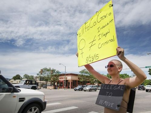 Should Fort Collins women be allowed to go topless?