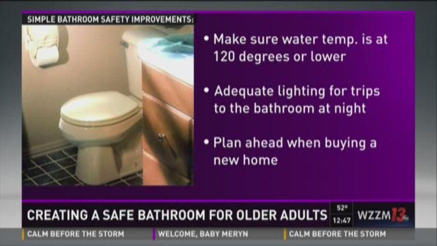 Senior wellness bathroom safety for seniors for Bathroom safety for seniors
