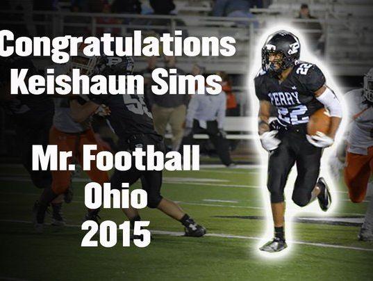 Massillon Perry's Keishaun Sims wins Ohio's Mr. Football award