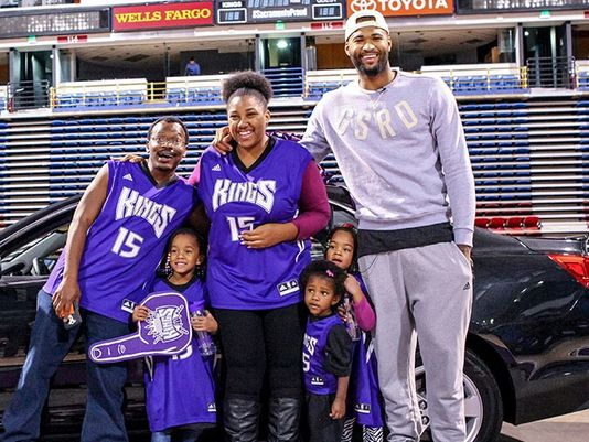 Chase Chevrolet Stockton >> DeMarcus Cousins surprises a family with a new car