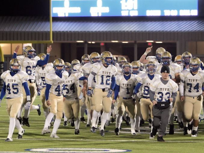 The Kerrville Tivy Antlers, taking the field against Sam Houston in the first round of last year's playoffs, advanced to the Class 5A Division II state quarterfinals.