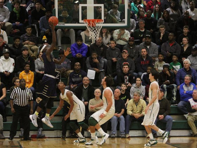 Garfield Heights traveled to St. Vincent-St. Mary and played the Fighting Irish on December 28, 2015