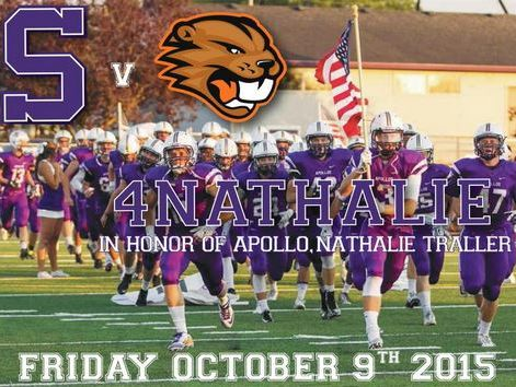"""Metro League schools will """"purple out"""" Friday night in honor of Nathalie Traller."""