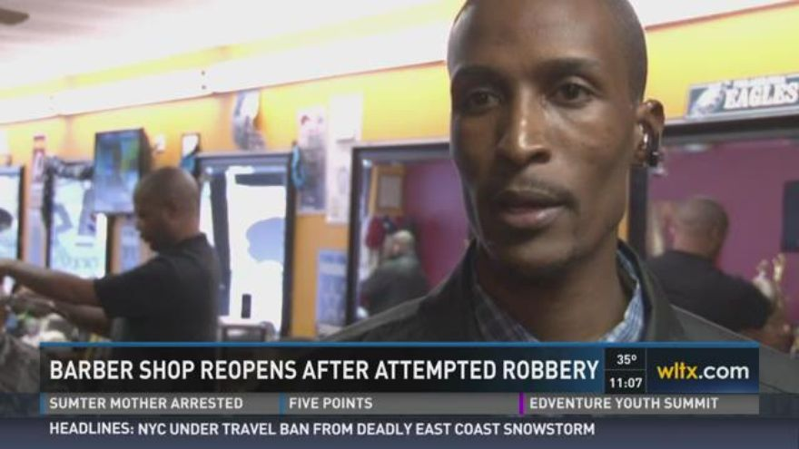 Barber Zone Hours : Not even 24 hours after two armed robbers walked in to Next Up Barber ...