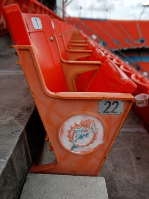 Dolphins to sell old seats from renovated stadium | wtsp com