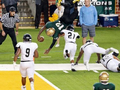 Jaylin Nelson (No. 12) was rules ineligible after to transferring to Duncanville from DeSoto.