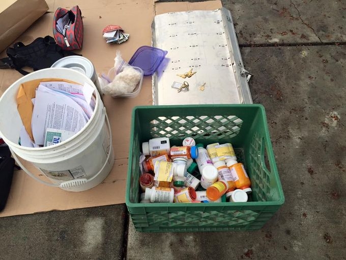 The discovery of hundreds of stolen mailed items has