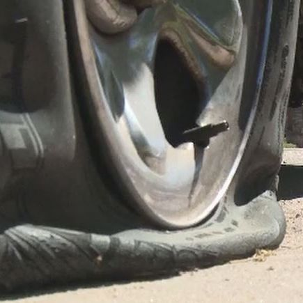 Tires slashed on dozens of cars at Springfield apartment complex, police say