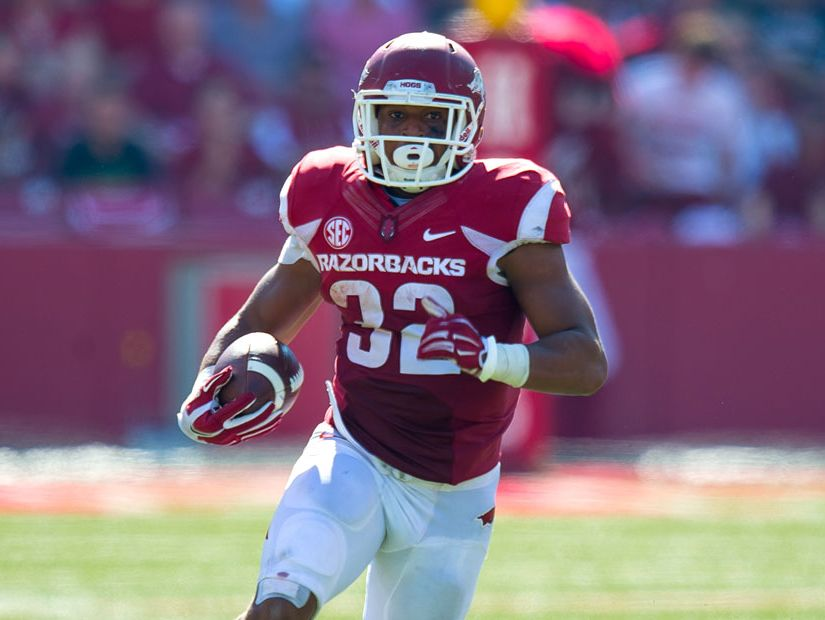 Senior Jonathan Williams and junior Alex Collins have been named to the Doak Walker Award watch list, presented annually to the nation's top running back.