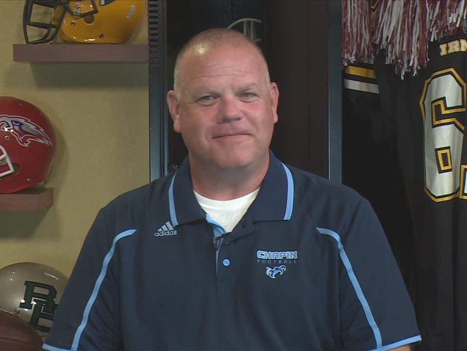 Chapin head football coach Justin Gentry.