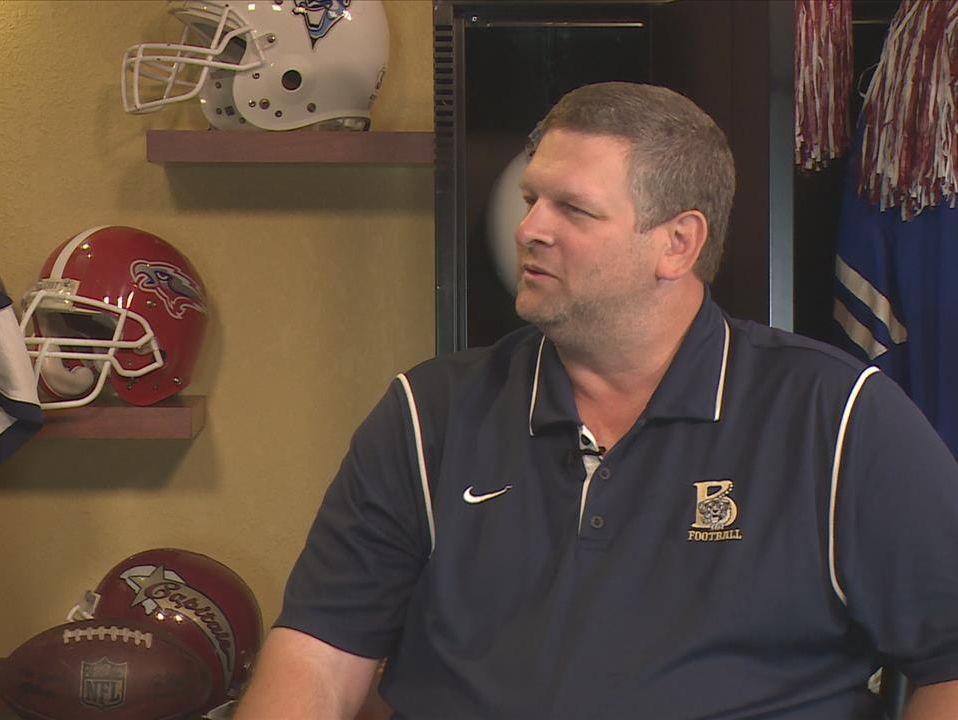 Dan Morgan, head football coach, Blythewood High School.