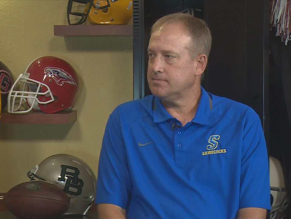 Sumter High football coach Mark Barnes.