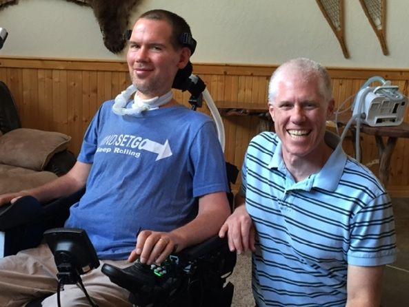 Steve Gleason and Noah Cooper