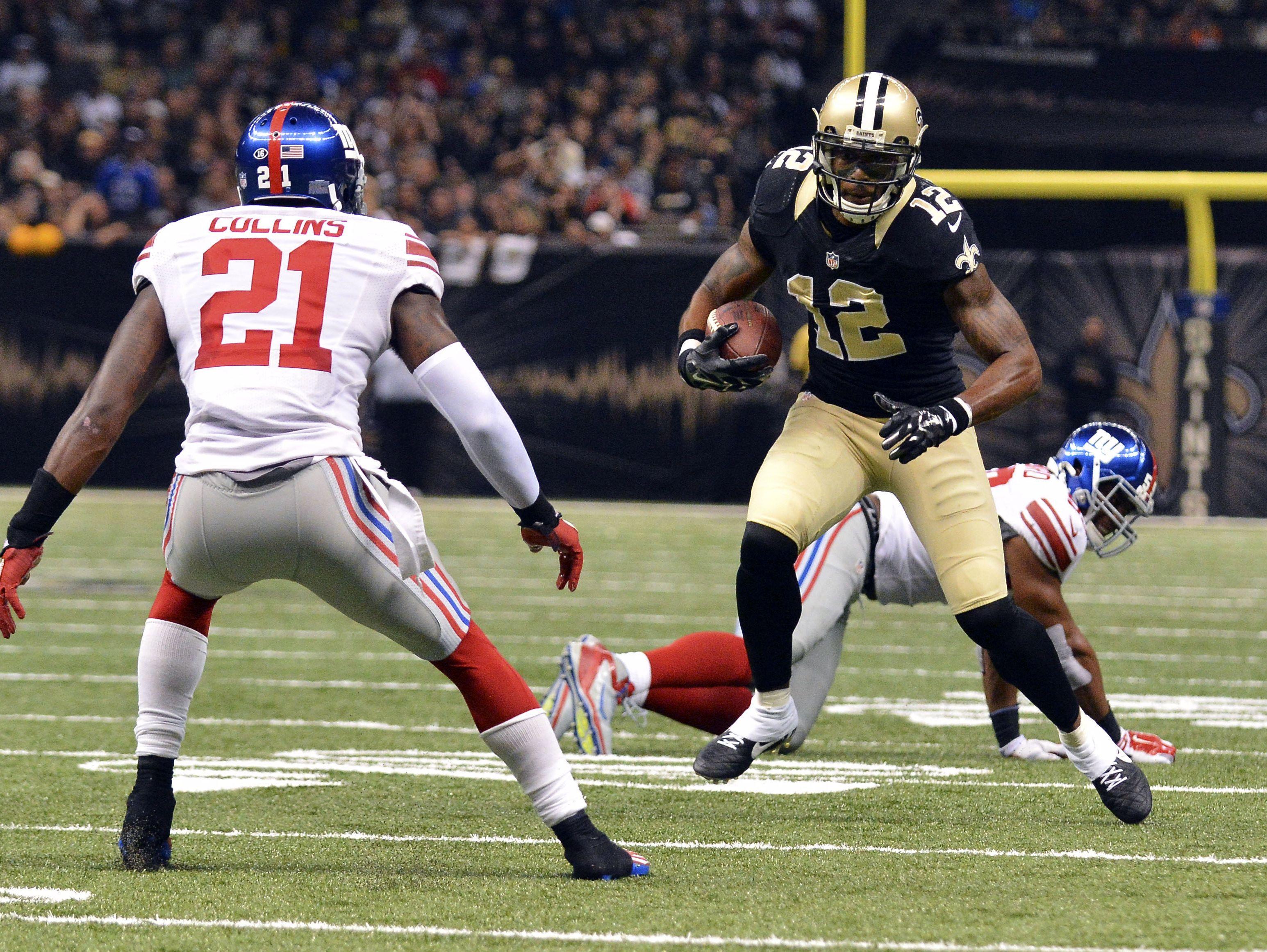 NFL: New York Giants at New Orleans Saints