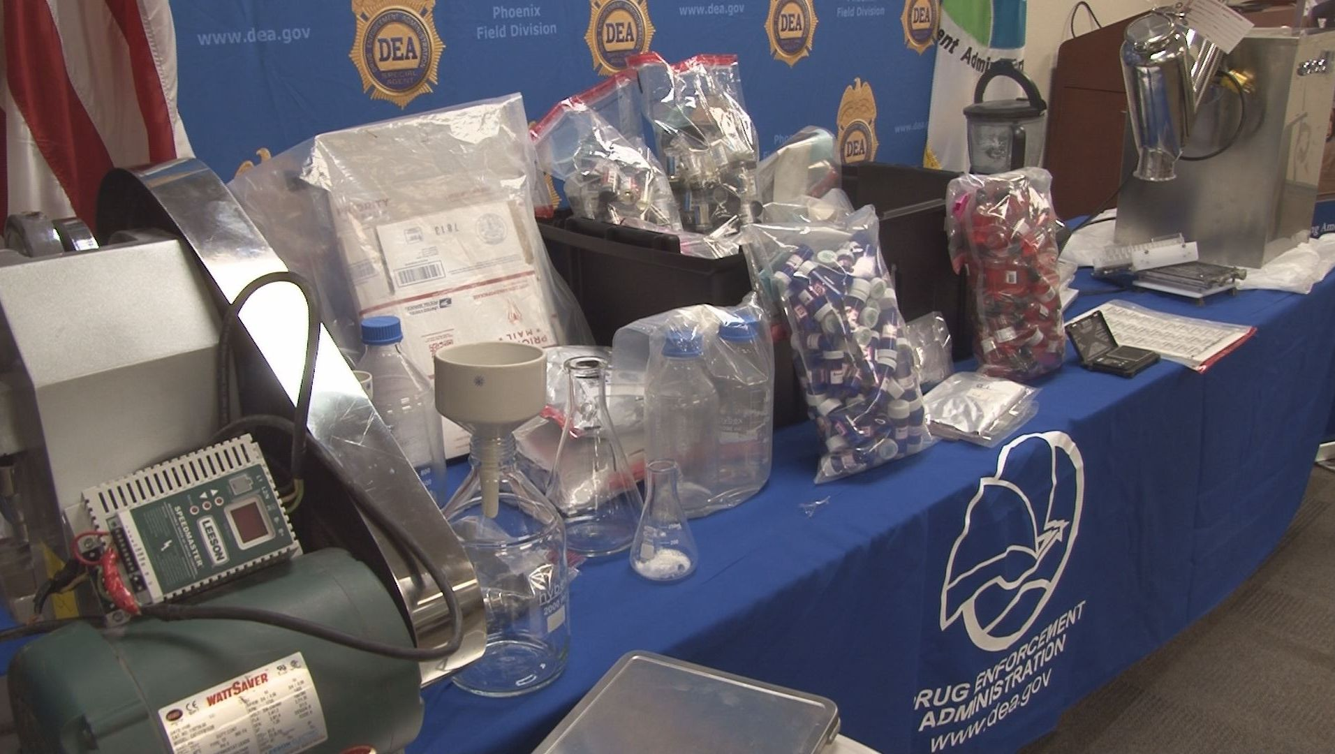 DEA announces steroid bust in Phoenix, nation