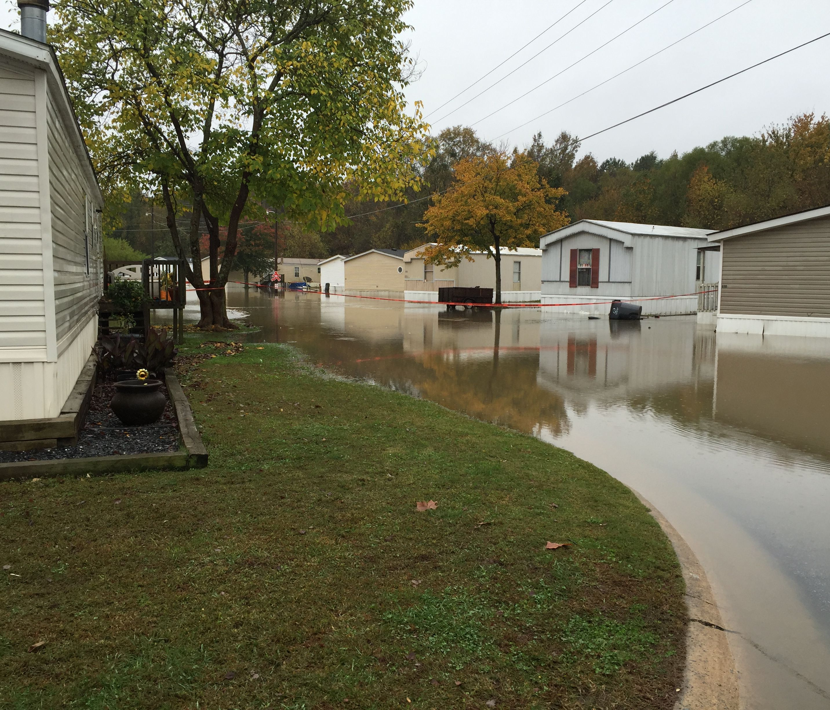 Residents Return Home Monday Night After Flooding