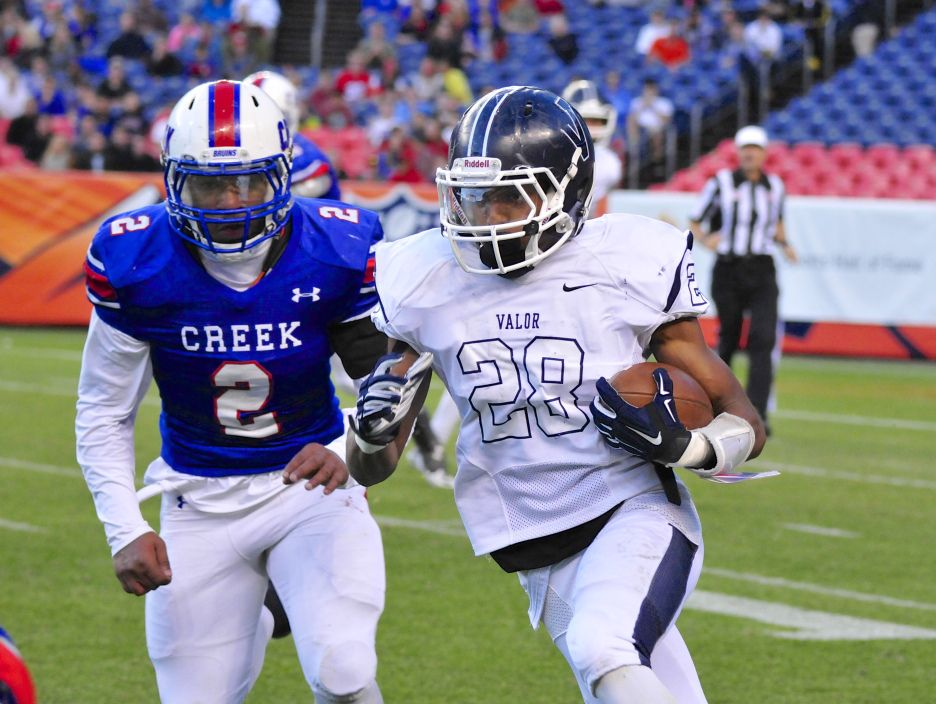 Valor vs Creek 14-15 5A State Championship