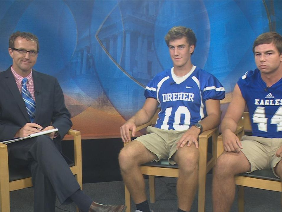 News 19's Ron Aiken visits with Zach Feaster of Airport and Dreher's Avery Armstrong to preview the WLTX Game of the Week!