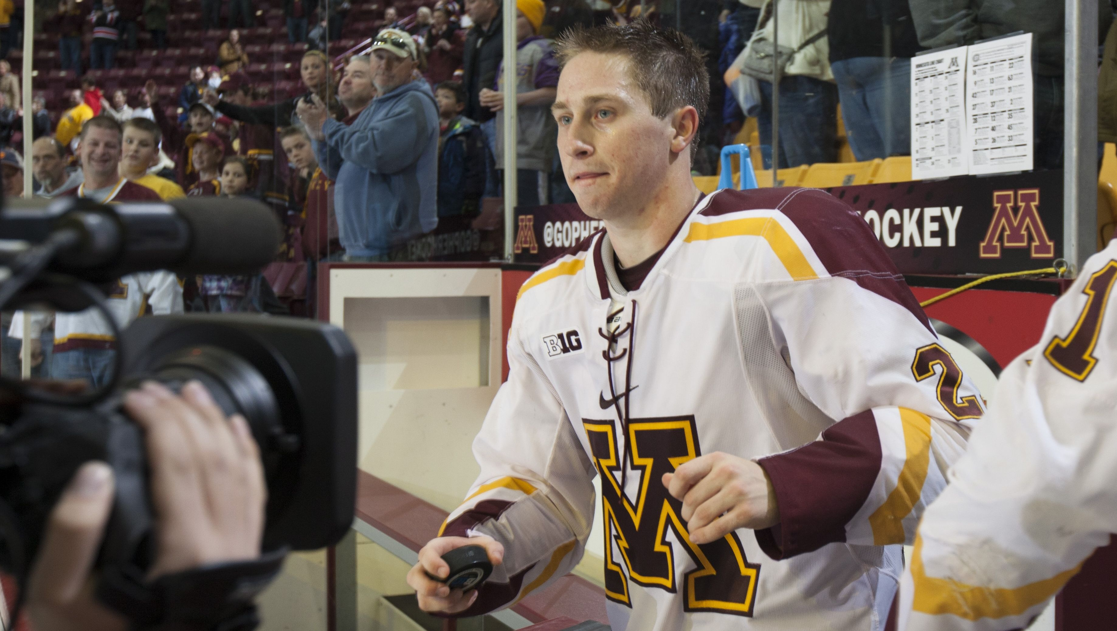 The Gophers hockey program and head coach Don Lucia have named Justin Kloos team captain for the 2015-16 season.