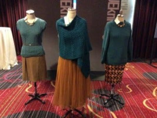 Vogue Knitting Stitch A Day : Day 1 at Vogue Knitting Live NYC