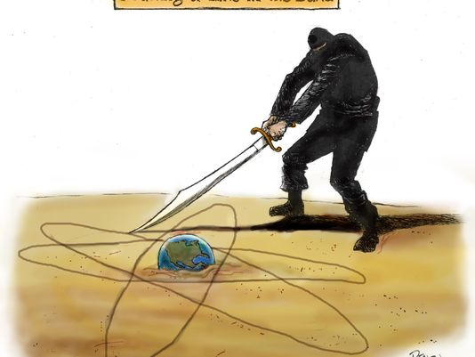 Drawing Lines In Photo Cc : Today s toon isis could go nuclear