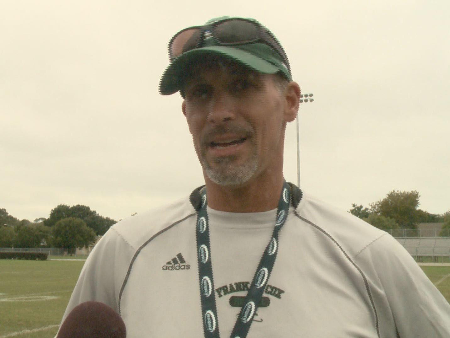 Former Cox High School football coach Bill Stachelski.