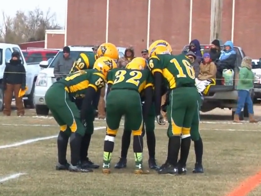 Arickaree/Woodlin in 6-man state championship 2014