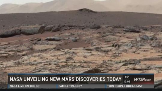 NASA unveiling new Mars discoveries today