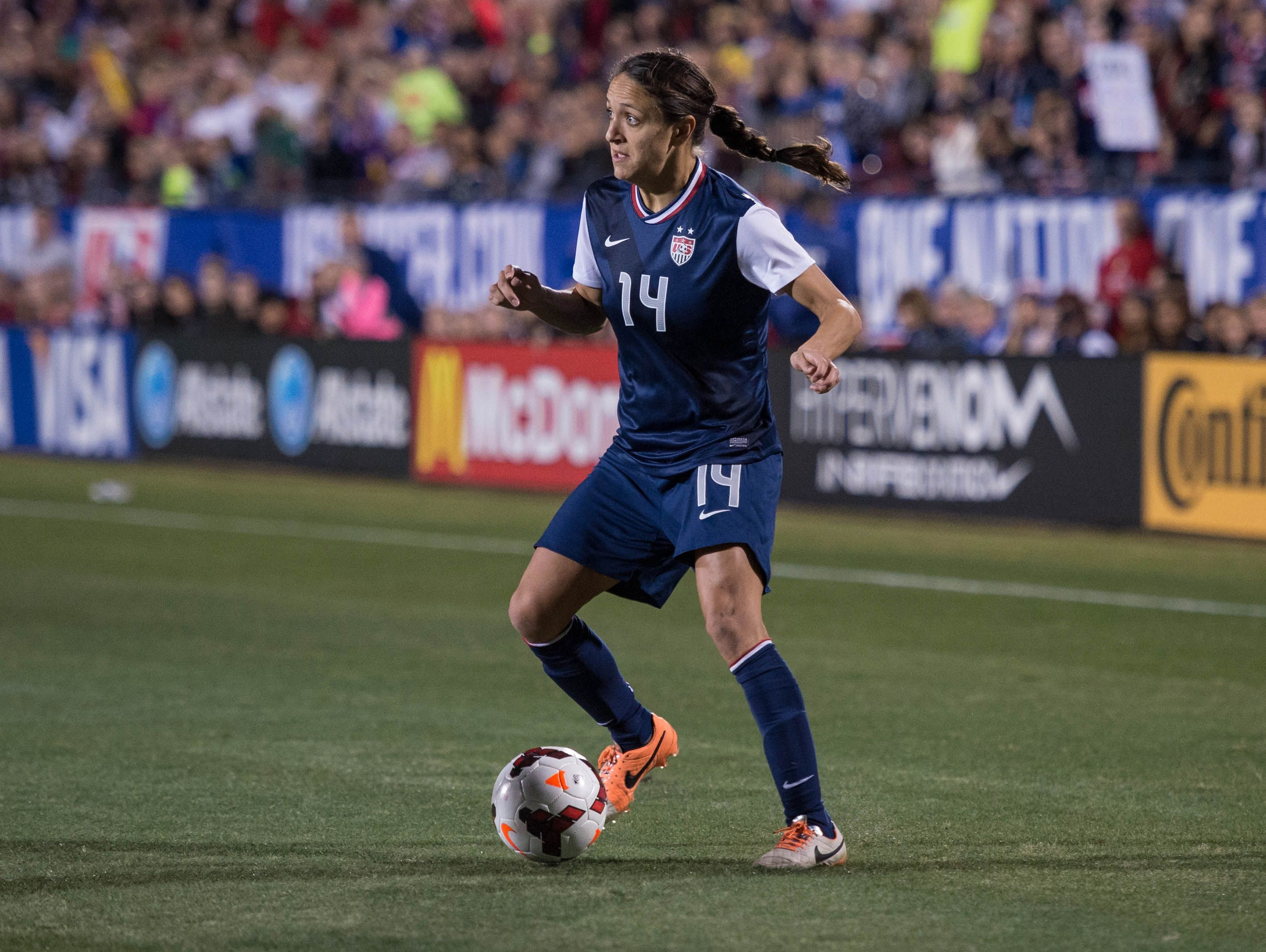 Former U.S. Women's Team and Seattle Reign FC defender Stephanie Cox takes over the Gig Harbor girls soccer program this year.