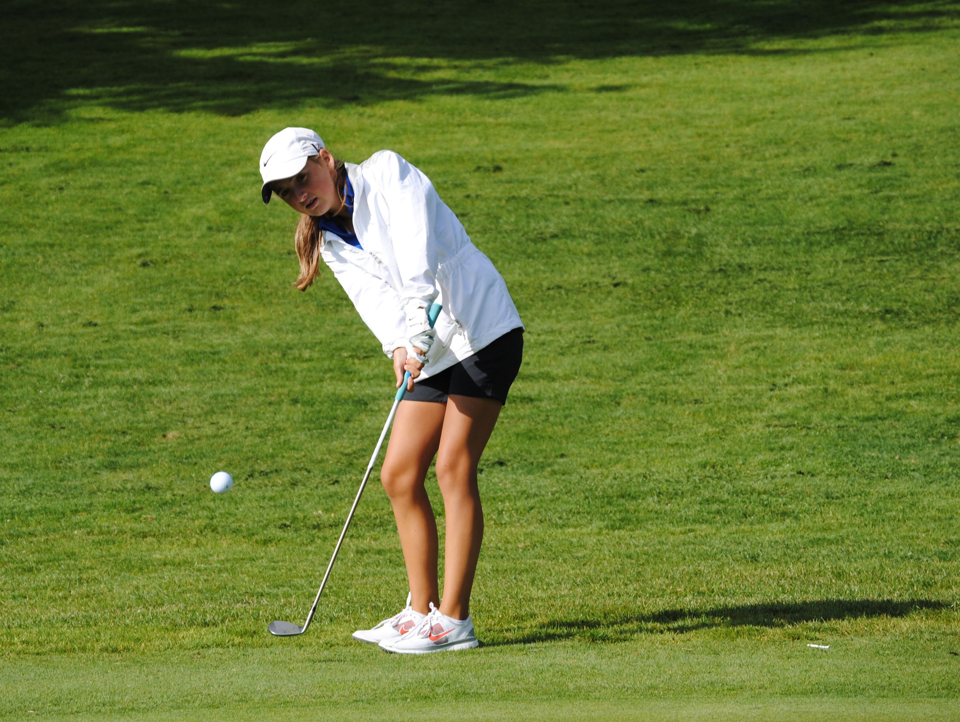 Independence High School sophomore golfer Sophia Trombetta