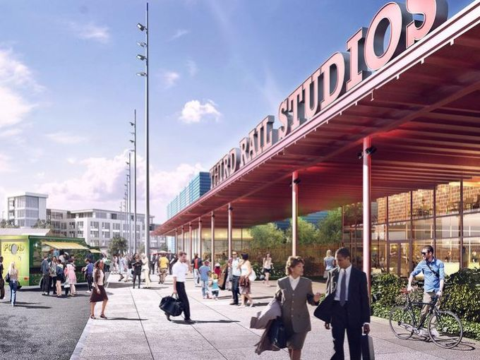 Third Rail Studios will be the first major project