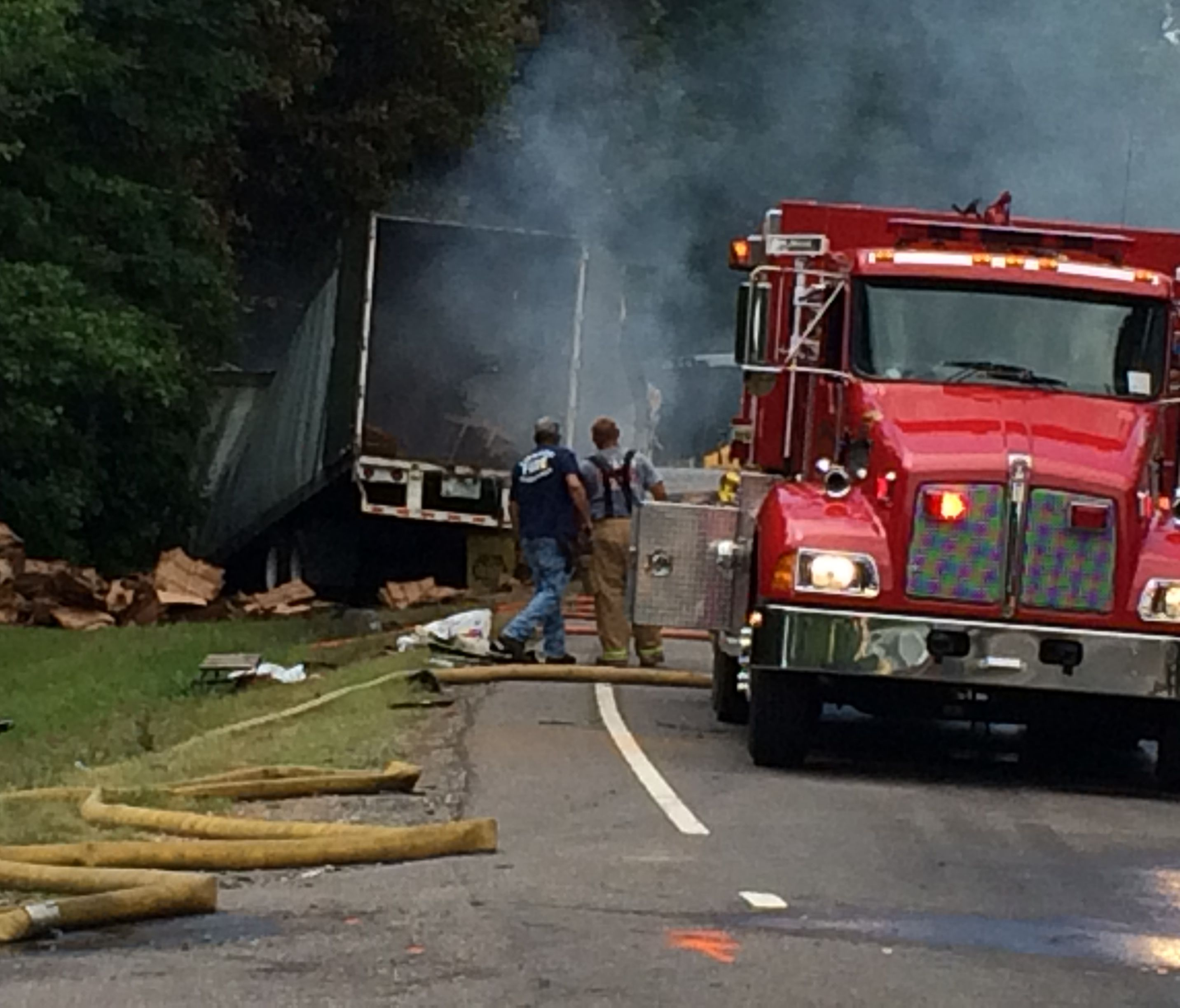 Driver Charged With DWI In U S  64 Fiery Wreck | wfmynews2 com