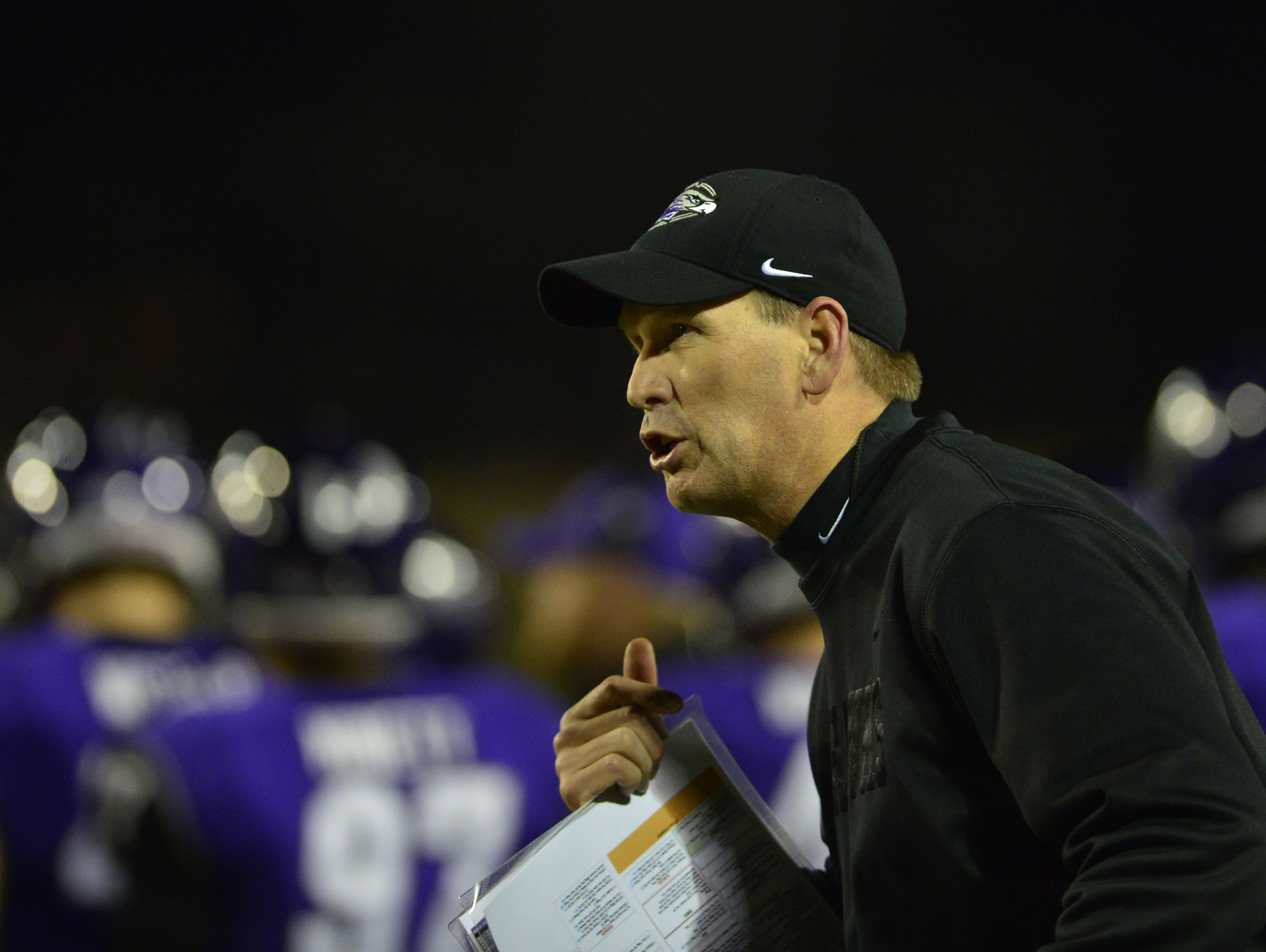 Dec 20, 2013; Salem, VA, USA; UW-Whitewater head coach