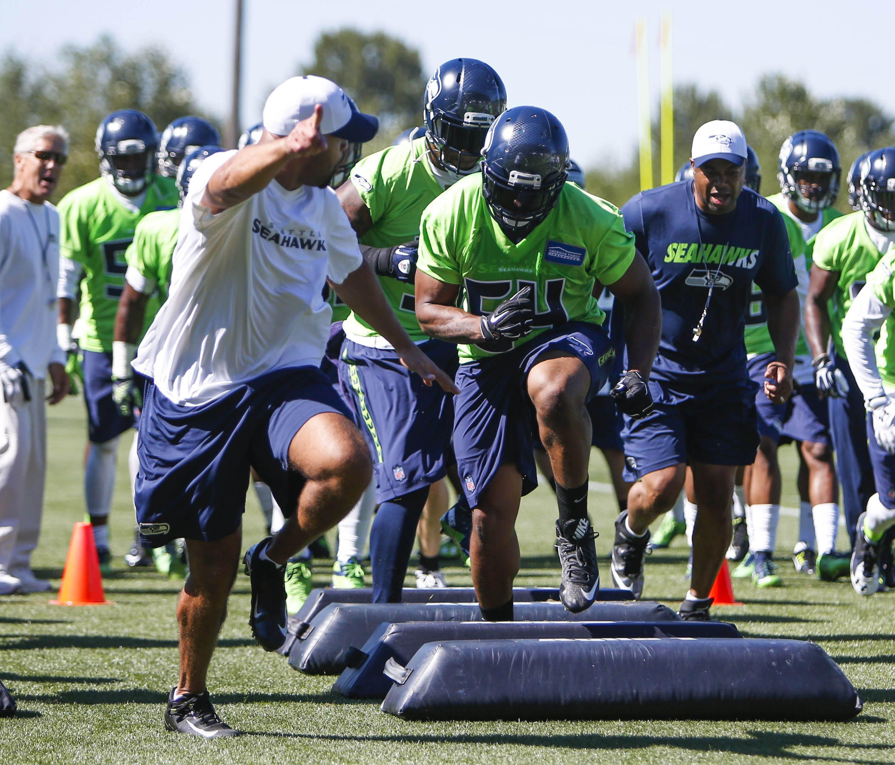 new styles 61042 e45f5 Seahawks Throwback Thursday: The green jerseys | krem.com