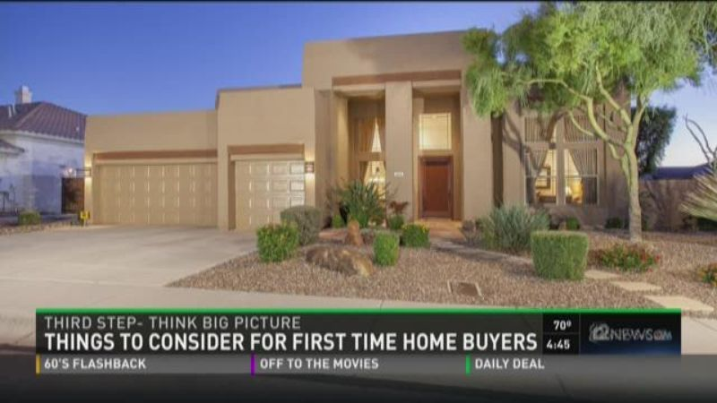 Things to consider for first time home buyers for Things to do when buying a house