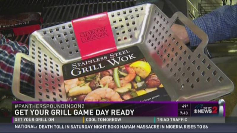 Get Your Grill On ~ Get your grill game day ready grilling baskets