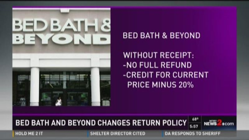 Bed Bath Beyond Vacuum Return Policy