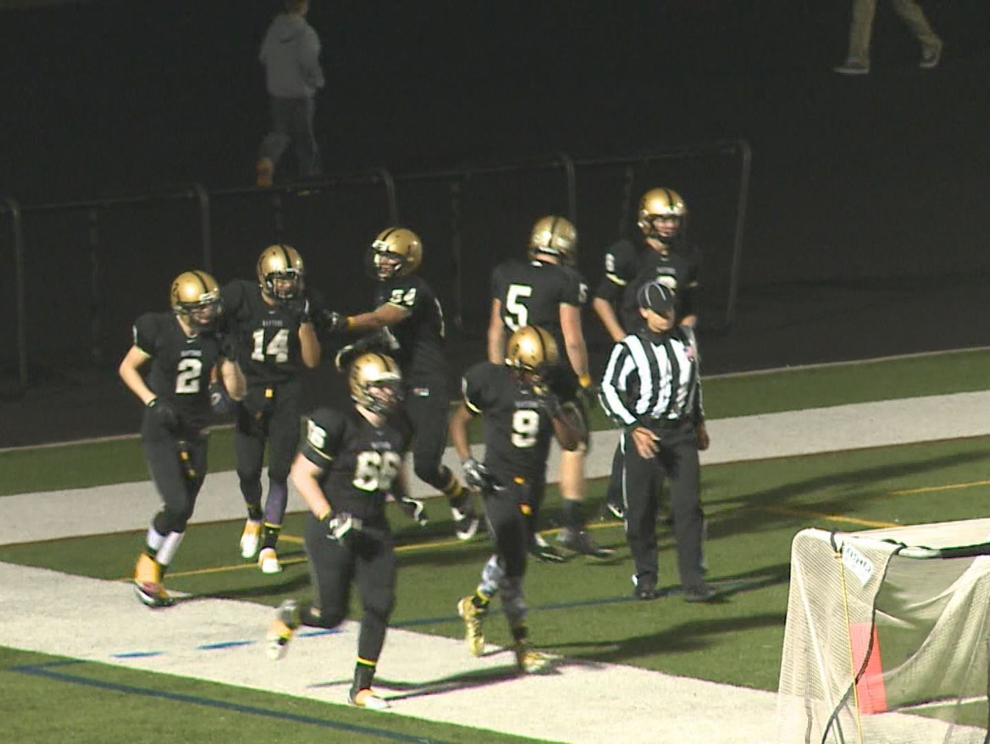 East Ridge High School football team during the 2014 season.