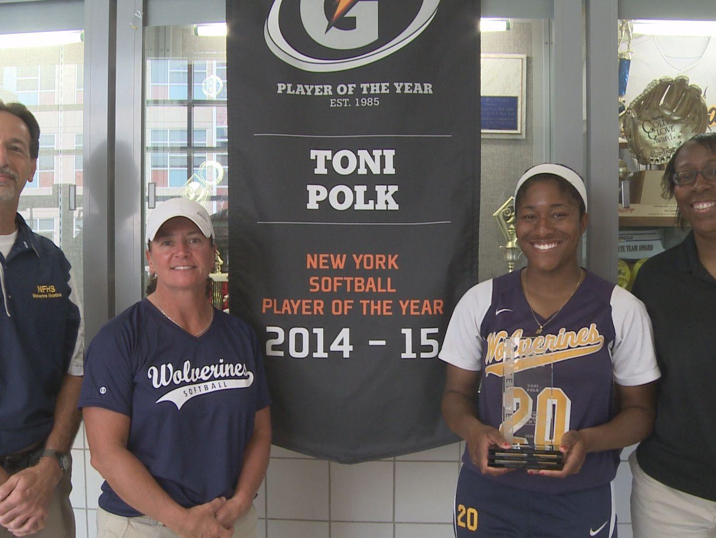 Toni Polk Named NYS Gatorade Player of the Year